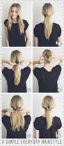 Simple N Easy Hairstyles by A Simple N Graceful Hairstyle For College 17 Best Ideas About