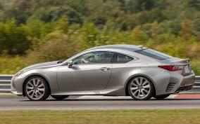 lexus sport car 4 door new cars with the highest resale value 2015