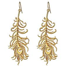 gold feather earrings gorjana gold feather earrings hauteheadquarters