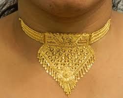 neck necklace gold images Bridal choker gold necklace jpg