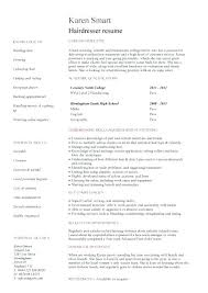 Hairstylist Resume Template Resume Samples For Cosmetologist Student Resume Targeted At A
