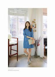 Trendy Plus Size Maternity Clothes Clothing Denim Blouse Spring Fashion Casual Cotton Blue Plus Size
