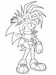 shadow the hedgehog coloring pages getcoloringpages com