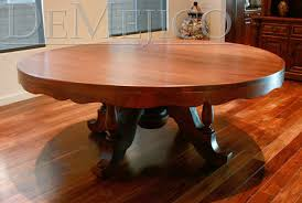 rustic dining table catalog mesquite tables rustic round table