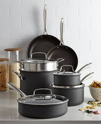 Cuisinart Dishwasher Safe Anodized Cookware Cuisinart Hard Anodized 11 Pc Cookware Set Cookware U0026 Cookware