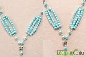 necklace designs with beads images Pearl jewelry designs how to make a beaded long fashion necklace jpg