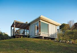 coastal prefabs that bring modular housing to the beach