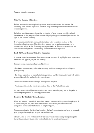 Resume Introduction Paragraph Examples by Resume Objective For It Professional Examples Sidemcicek Com