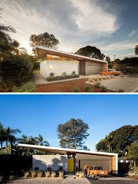 house tour a mid century house in california with a curved roof