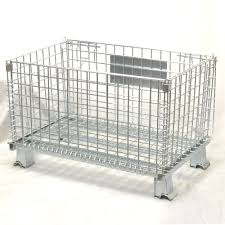 heavy duty 32 u0027 u0027 x 20 u0027 u0027 x 21 u0027 u0027 collapsible wire container stackable