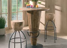 Table Haute En Bois Massif by Mobilier Pour Restaurant