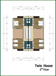 twin house floor plans home design and style