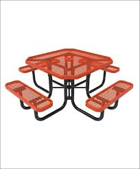 exteriors magnificent octagon shaped picnic table picnic table