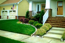 Garden Ideas For Front Of House Amazing Simple House Garden Ideas Livetomanage