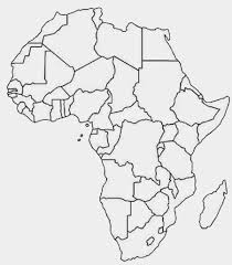 Blank Continents Map by Printable Africa Map Free Printable Maps