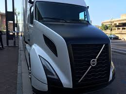 volvo tractor trailer volvo shows off its supertruck achieves 88 freight efficiency boost