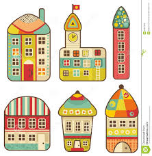 cute houses collection of cute houses royalty free stock photo image 32867535