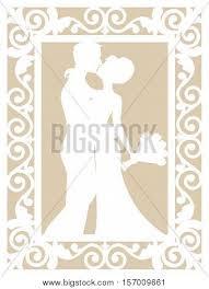 card for groom wedding card template groom vector photo bigstock