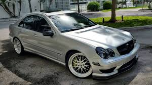 mercedes c class coupe tuning mercedes w203 c class tuning