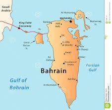 map of bahrain bahrain map royalty free stock image image 19597116