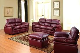 Burgundy Leather Sofa Set Burgundy Leather Sofa Pictures Gallery Of Great Burgundy Leather