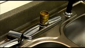 how to remove a kitchen sink faucet moen style kitchen faucet repair