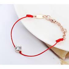 crystal rope bracelet images Crystal from swarovski jewelry thin red thread string rope charm jpg