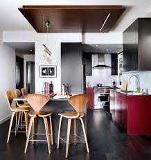 Modern Ceiling Design For Kitchen Downtown Toronto Condo Modern Kitchen Toronto By Toronto