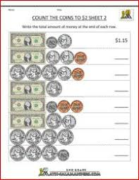 best 25 counting money worksheets ideas on pinterest money