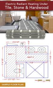 electric radiant flooring contemporary on floor and radiant floor