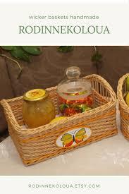wicker home decor 150 best wicker baskets hand made rodinnekoloua images on
