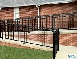 handrail alumi guard ornamental aluminum fencing