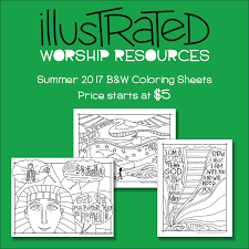 coloring pages u0026 posters u2013 illustrated children u0027s ministry