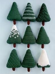 knit christmas christmas trees knitting pattern knitting patterns christmas