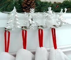 christmas stocking holders fireplace mantel no holder nutcracker