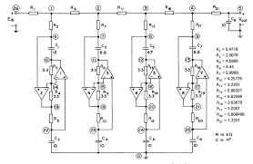 passive filter circuits wiring diagram components