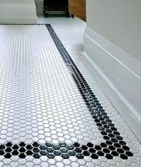 Black Bathroom Floor Tiles 29 Ideas To Use All 4 Bahtroom Border Tile Types Digsdigs