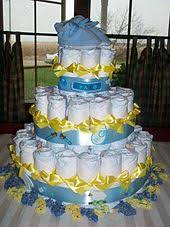 Diaper Cake Bathtub Baby Shower Wikipedia