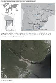 parana river map delta alliance parana