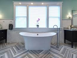 Bathroom Tile Wall Ideas by 9 Bold Bathroom Tile Designs Hgtv U0027s Decorating U0026 Design Blog Hgtv