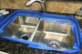 How To Caulk A Kitchen Sink Kitchen Sink Sealant Granite Sink How To Caulk A Kitchen Seal Home