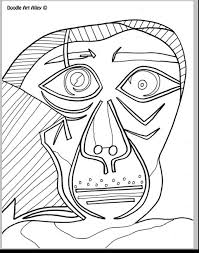 pablo picasso coloring sheets paintings and works of many artists