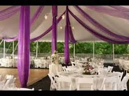 Wedding Hall Decorations Diy Wedding Venue Decorations Youtube