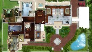 Celebrity House Floor Plans by Mod The Sims Celebrity Mansion