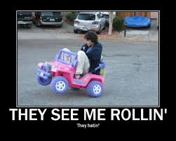 They See Me Rollin They Hatin Meme - they see me rollin picture ebaum s world