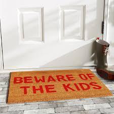 Hawaiian Doormats Home U0026 More Beware Of The Kids Doormat U0026 Reviews Wayfair