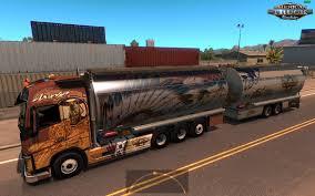 volvo american truck bdf tandem apache pack volvo fh16 2012 v1 0 v1 4 x american
