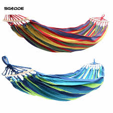 online shop sgodde double 2 person hammock green fabric 450lb air