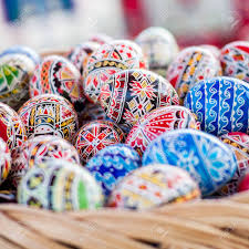 decorative easter eggs decorated easter eggs beautiful colorful traditional
