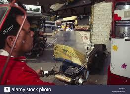 pedicab philippines philippines cebu island pedicab driver stock photo royalty free